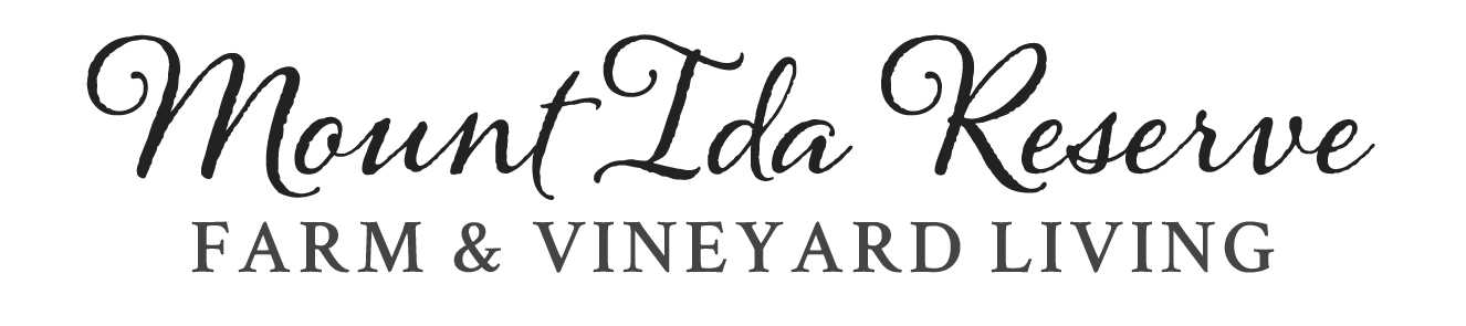 Mount Ida Reserve Farm and Vineyard Living