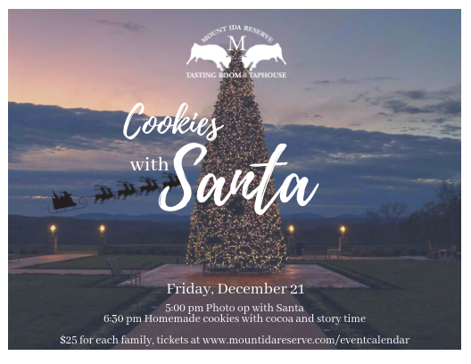 Sold Out Cookies With Santa Mount Ida Reserve