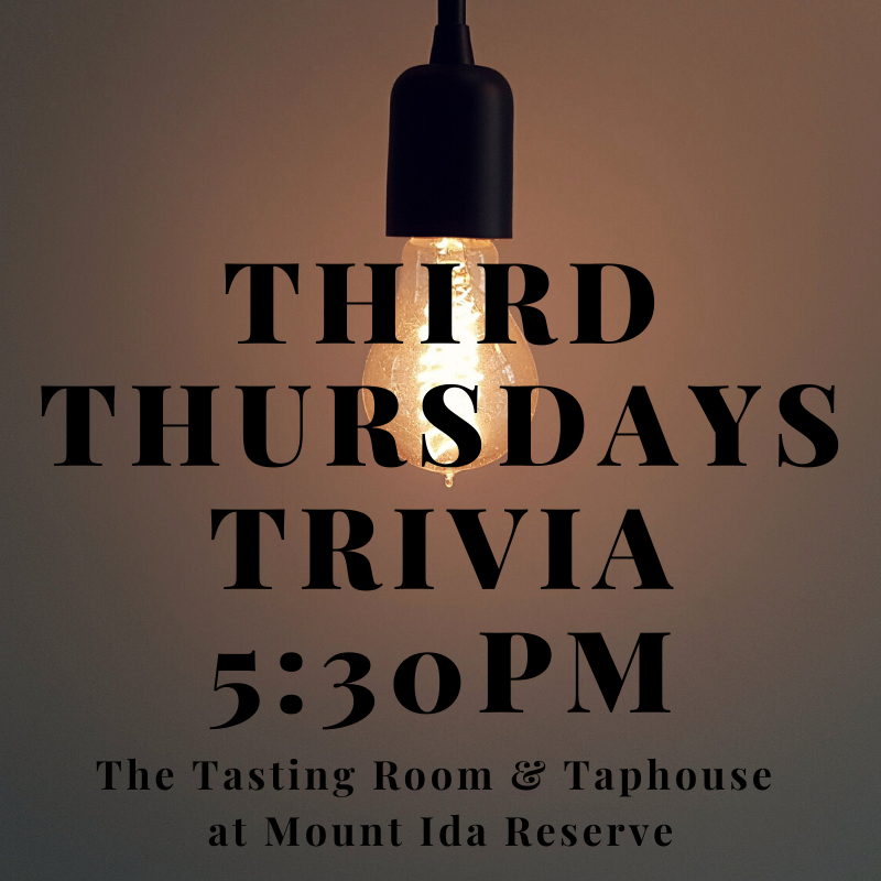 Trivia Night Brewery Charlottesville